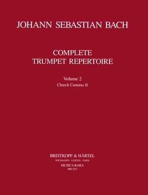 Bach, JS: Complete Trumpet Repertoire Volume 2