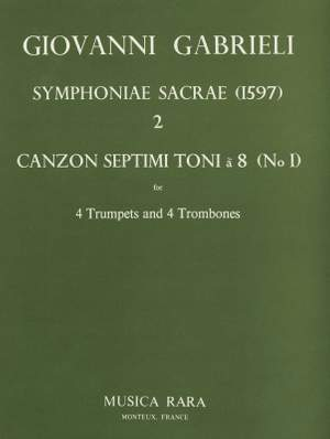 Gabrieli: Sacrae Symphoniae (1597) Nr.2