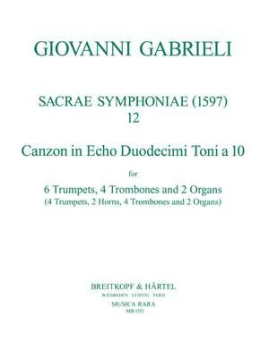 Gabrieli: Sacrae Symphoniae (1597)Nr.12