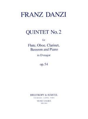 Danzi: Quintett in D op. 54 Nr. 2