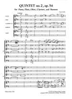 Danzi: Quintett in D op. 54 Nr. 2 Product Image