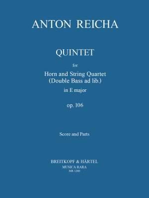 Reicha: Quintett in e op. 106
