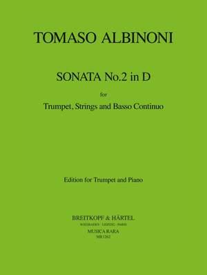 Albinoni: Sonata Nr. 2 in D