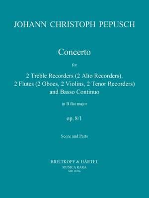 Pepusch: Konzert op. 8/1