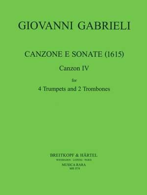 Gabrieli: Canzone e Sonate (1615) Nr.4