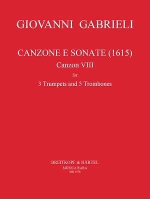 Gabrieli: Canzone e Sonate (1615) Nr.8