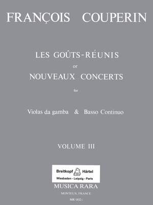 Couperin: Les Gouts Reunis Band III