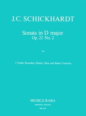 Trio Sonata in D minor Nova Music RECORDER DUET NM102