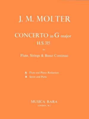 Molter, J: Flötenkonzert in G