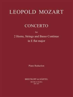 Mozart: Concerto in Es für 2 Hörner