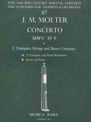 Molter: Concerto in D MWV IV/9