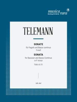 Telemann: Sonata in f