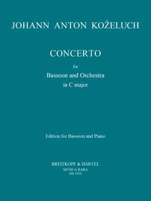 Kozeluch, J: Concerto in C
