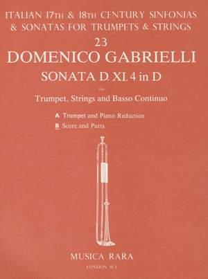 Gabrielli: Sonata Nr. XI/4