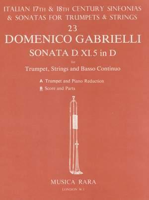 Gabrielli: Sonata Nr. XI/5