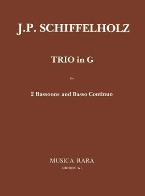 Schiffelholz: Triosonate in G