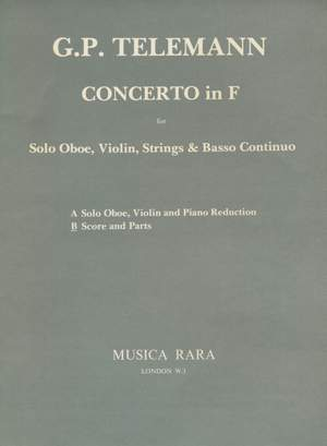 Telemann: Concerto in F