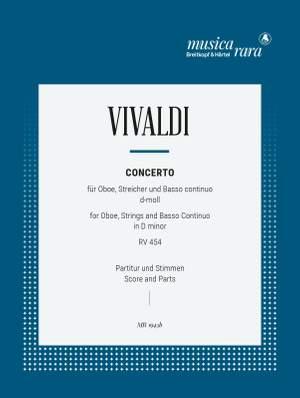 Vivaldi: Concerto in d RV 454