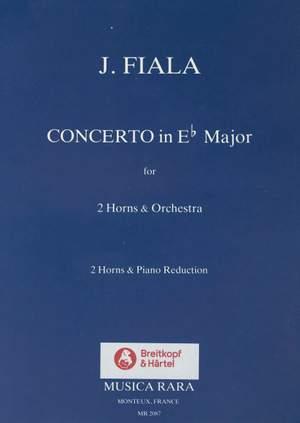 Fiala: Concerto in Es