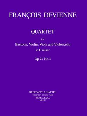Devienne: Quartett in g op. 73 Nr. 3