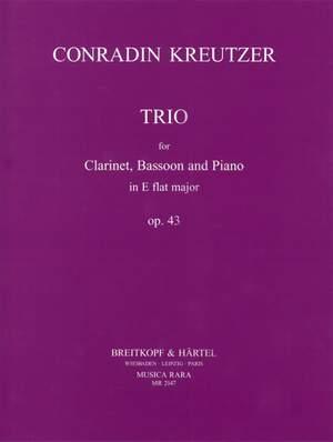 Kreutzer: Trio in Es op. 43, KWV 5105