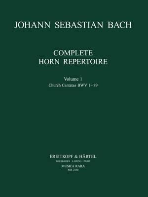 Bach, JS: Complete Horn Repertoire Volume 1