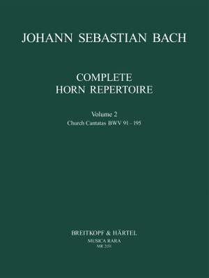 Bach, JS: Complete Horn Repertoire Volume 2