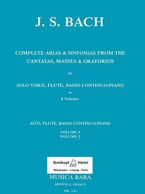 Bach, JS: Sämtliche Arien Bd. 5 A,Fl,Bc