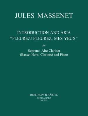 Massenet: Pleurez, pleurez, mes yeux, Arie aus Le Cid Product Image
