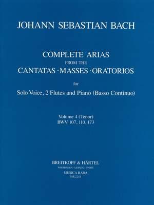 Bach, JS: Compl. Arias (Voc,2 Fl) Vol.4