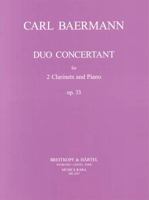 Baermann: Duo Concertant op. 33