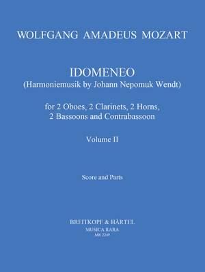 Mozart: Idomeneo Band II