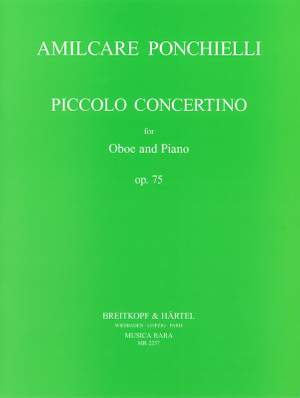 Ponchielli: Concertino op. 75
