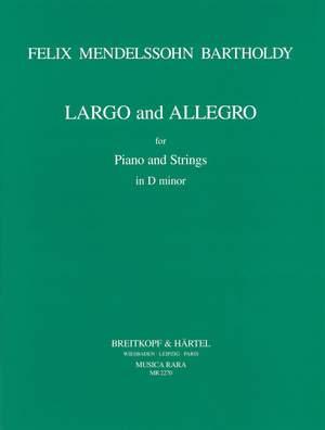 Mendelssohn: Largo und Allegro f. Streicher