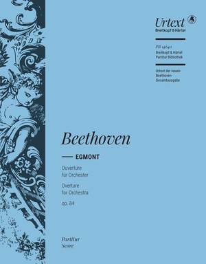 Beethoven: Egmont op. 84. Ouvertüre Product Image