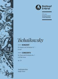 Tchaikovsky: Klavierkonzert 1 b-moll op.23