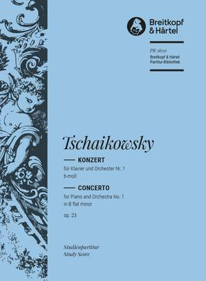 Tchaikovsky: Klavierkonzert 1 b-moll op.23 Product Image