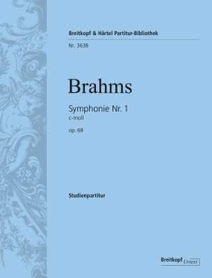 Brahms: Symphonie Nr. 1 c-moll op. 68