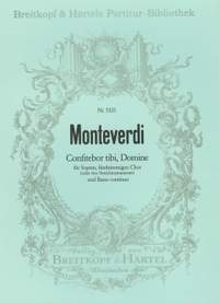Monteverdi: Confitebor tibi, Domine