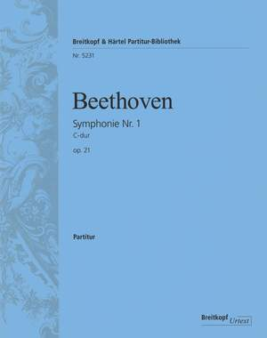 Beethoven, L: Symphonie Nr. 1 C-dur op.21