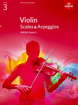 ABRSM Violin Scales & Arpeggios Grade 3