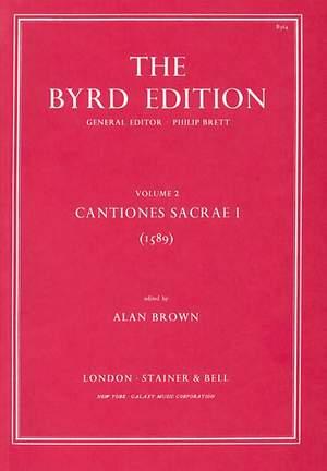 Byrd: Cantiones Sacrae I (1589)