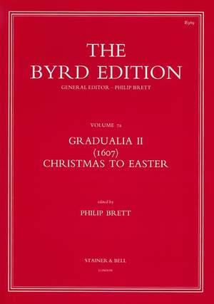 Byrd: Gradualia II (1607) - Christmas to Easter