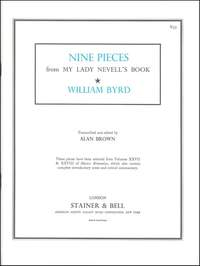 Byrd: Nine Pieces from 'My Lady Nevell's Book'