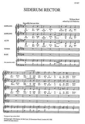 Byrd: Siderum rector (Lord God Almighty)