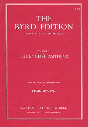 Byrd: The English Anthems
