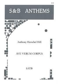 Hill: Ave Verum Corpus. SATB
