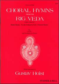 Holst: Choral Hymns from 'The Rig Veda': Group 1. Vocal Score