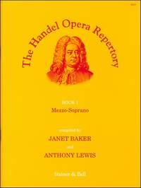 Handel: The Handel Opera Repertory. Book 1. Mezzo-Soprano