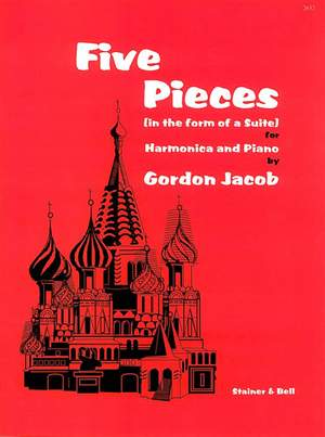 Jacob: Five Pieces in the form of a Suite for Harmonica and Piano